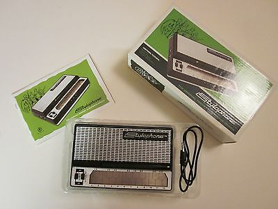 stylophone in original box with MP3 input and lead