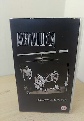 METALLICA Cunning Stunts VIDEO Pal Format Vhs Video Recorded Live In Fort Worth