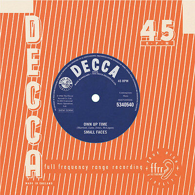 """Small Faces - Own Up Time / Jimmy Winston - Sorry She's Mine  7""""  Mint"""