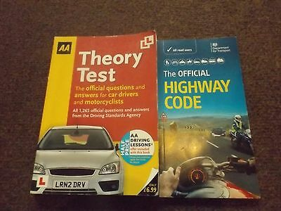 Highway code and Theory test books