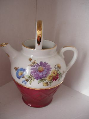 Meissner Limoges porcelain small watering can.