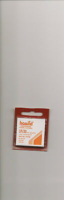 HAWID MOUNTS 35x37 mm CLEAR PACK OF 50