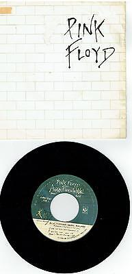 """Pink Floyd – Another Brick In The Wall (Part II) ' 7 """" VG+"""