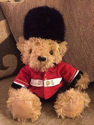 Buckingham Palace The Royal Collection Life Guardsman Soft Teddy Bear RARE