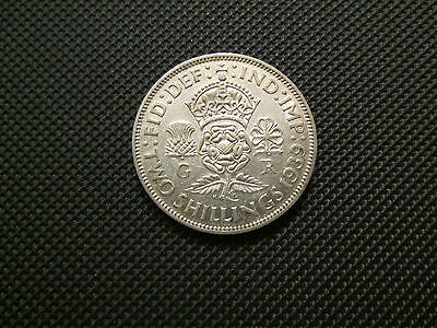 1939 George Vi Florin/two Shillings