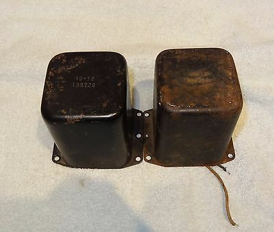 Pair of Heathkit 46-12 choke for W4 and W5