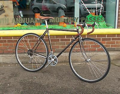 "mercian 21.5"" framed road bike"