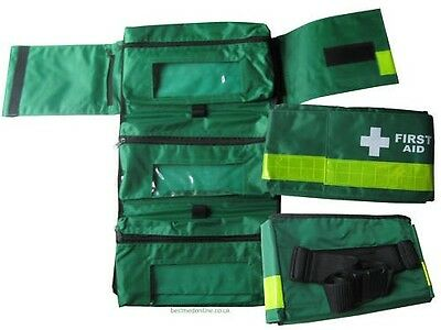First Aid Roll Out  Bum Bag Pouch for Ambulance Paramedic  EMT Down Medic