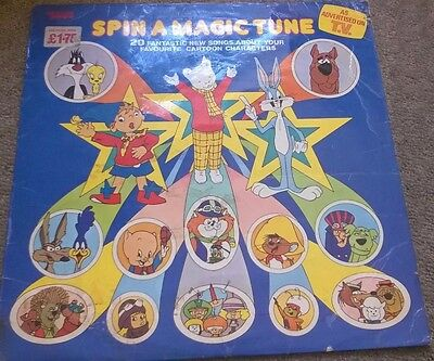 Spin A Magic Tune/20 Fantastic new songs about your favourite cartoon /record/lp