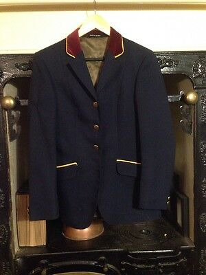 Navy Mears Showjumping Jacket Size 34