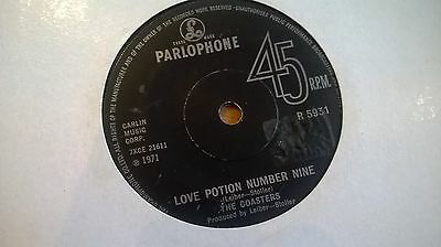 The Coasters-Love potion number 9 45RPM Single(7-Inch) Mod Northern Soul