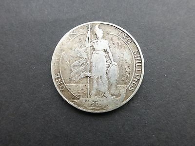 Edward vii silver Florin coin 1905  good filler worn
