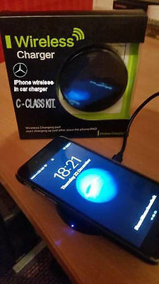 C Class Mercedes Benz Iphone Induction Wireless In Car Kit Charger