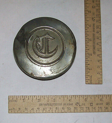 ANCHOR emblem or symbol - C - CHRYSLER - Threaded HUB COVER / GREASE CAP - As Is