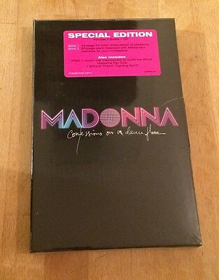 Madonna Confessions On A Dance Floor Limited Edition CD Box Set Sealed Rare Mint