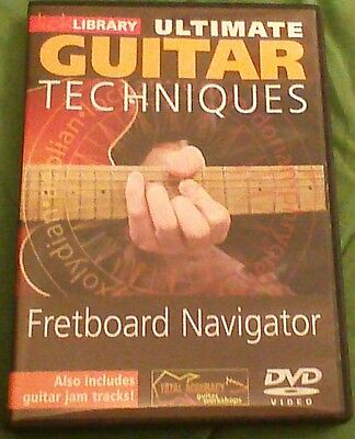 Lick Library ultimate guitar techniques fretboard navigator dvd