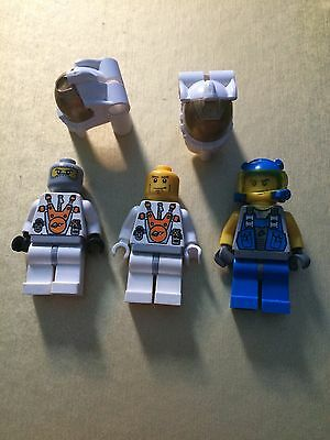 Space & Miners Lego Figures x 3 Free Postage