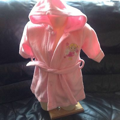 baby dressing gown 3-6 months