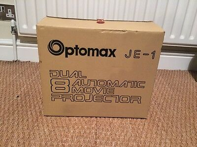 Optomax JE-1 Dual 8 Automatic Movie Projector