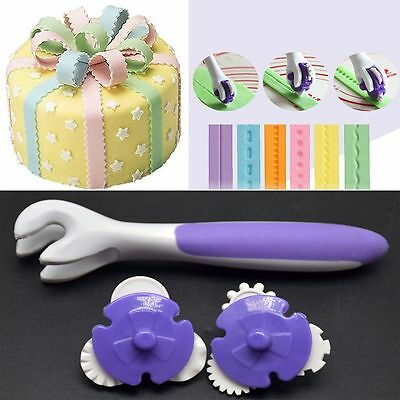 Kitchen Accessories Decor Baking Tool Cutting Edge Knife Plastic Cake Molds