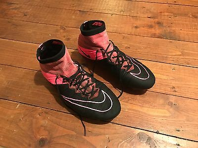 Kids Nike Mercurial Superfly leather fg football boots UK size 6.5