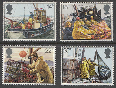 SG1166-1169 1981 FISHING Unmounted Mint