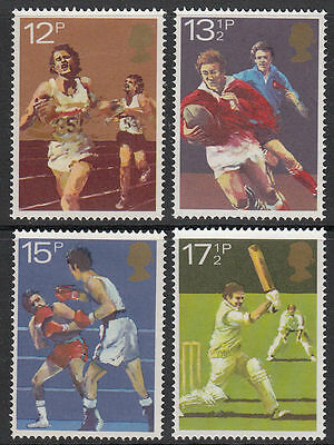 SG1134-1137 1980 SPORTS Unmounted Mint