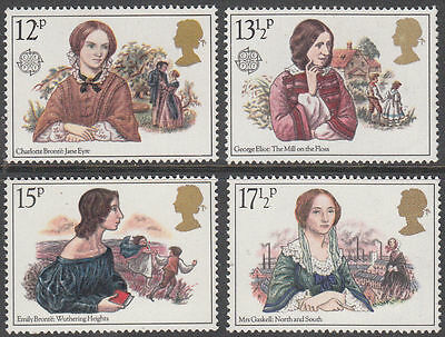 SG1125-1128 1980 FAMOUS WOMEN Unmounted Mint