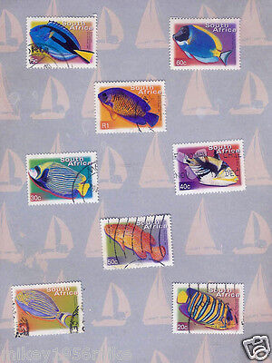 British Commonwealth South Africa Pictorial stamps Tropical Fish set A19