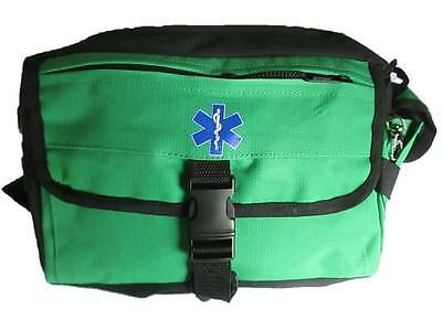 Advanced Bum Bag (GREEN) Paramedic Ambulance St John Medic First Aid Doctor