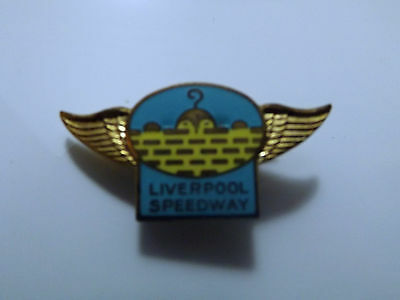 "1950`s LIVERPOOL SPEEDWAY  ENAMEL BADGE-""THE CHADS"""