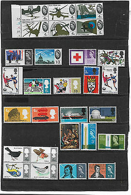 BRITISH Stamps Mint Collection,Pre-Decimal Commemoratives With Several Sets