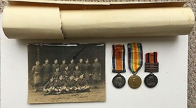 Canadian Scottish Boer War & WW1 Medal Group - South African Light Horse