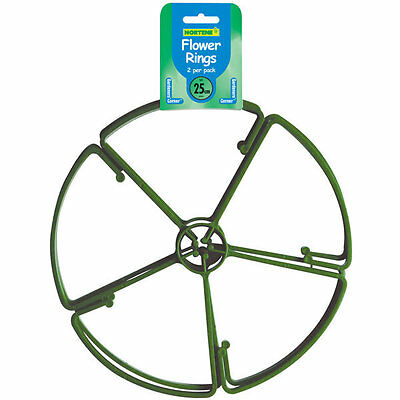 1 pack of 25cms flower rings 2 per pack by botanico