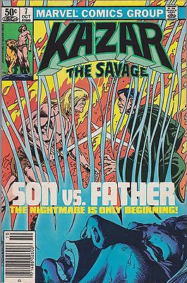 Ka-Zar The Savage #7 Marvel 1981 Combined Shipping Available