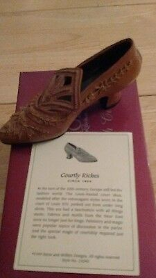 just the right shoe courtly riches