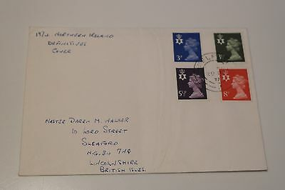 1974 Regional Definitives Issue, North Ireland, Sleaford Handstamp, Free Postage