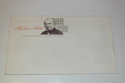 Rowland Hill First Day Envelope with insert (completely blank), Free Postage