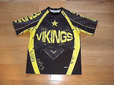 O'Neills Widnes Vikings Rugby League training Supporters shirt/top/adult small