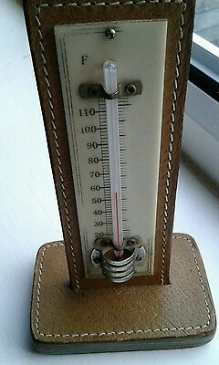 Vintage Desk Thermometer Made in England