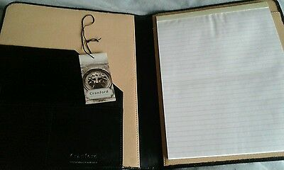 Cranford Handcrafted Leather Notepad