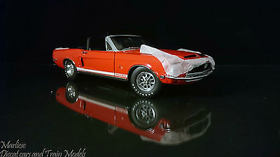 Rare GMP 1:24 1968 Shelby GT500KR Convertible- Ltd Ed of 1000