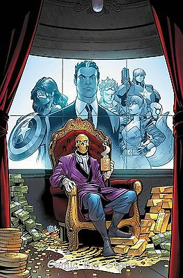 Us Avengers #2 (2017) 1St Printing Bagged & Boarded Marvel Now