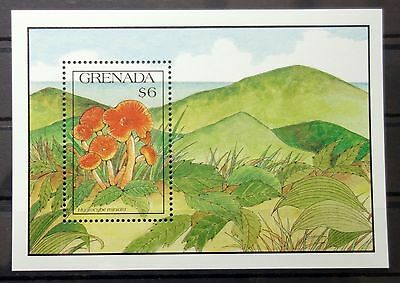 Grenada 1991 mushrooms MNH