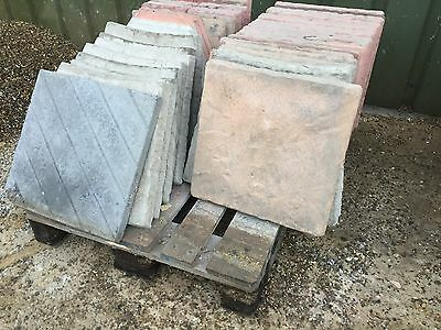 450mmx450mm Patio, Paving Slabs 2nds