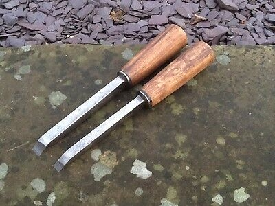 Pair Heavy Duty Mortice Chisels, By Parkin-Parker & Co.