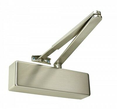New Welling W095S Satin Stainless Steel Effect Door Closer Wo95S 500.1095.06