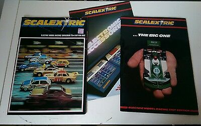 Vintage Scalextric catalogues, 21st and 23rd edition