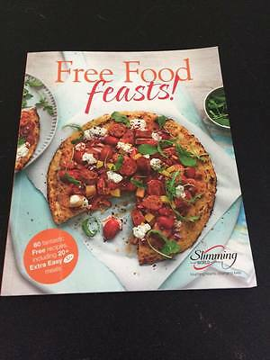 slimming world Free Food Feasts recipe book BRAND NEW