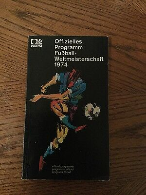 1974 Official World Cup Finals Programme